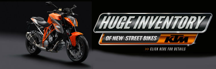 KTM STREET BIKES: Click here to view the models.